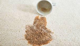 Conseil j entretiens hotel tache cafe moquette