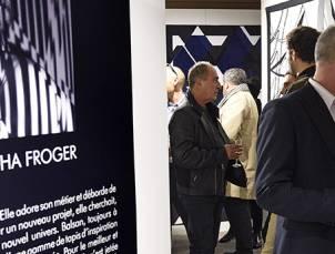 Fiesta de inauguración de la sala de exposiciones de Balsan en París