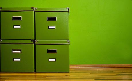 Inspiracion colores deco casilleros verde