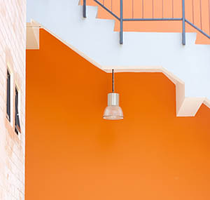 Inspiracion colores deco naranja